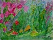 Blumen 2013  Aquarell