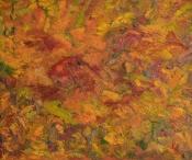 Blätter im Herbst 2014 Öl